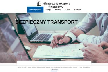 """""""BEZPIECZNY TRANSPORT"""" Doradztwo, Spedycja, Logistyka Monika Sawoń-Halicka - Transport ciężarowy krajowy Białystok"""