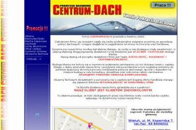 CENTRUM-DACH - Pokrycia dachowe WIELUŃ