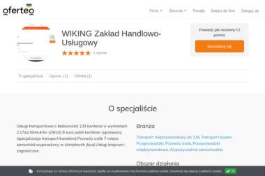 WIKING Zakład Handlowo-Usługowy - Transport busem Łochowo