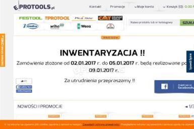 Protools Sp. z o.o. - Narzędzia Ostrzeszów