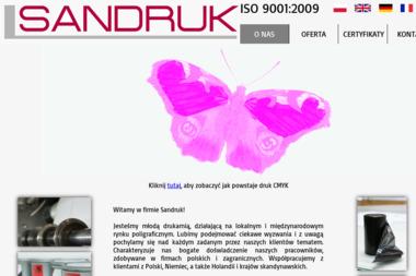 Sandruk - Wydruk Naklejek Wrocław