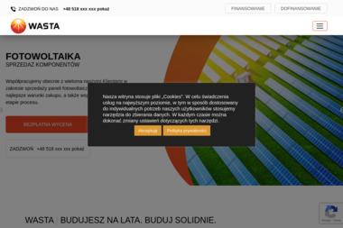 """""""WASTA"""" s.c. - Energia Odnawialna Kępno"""