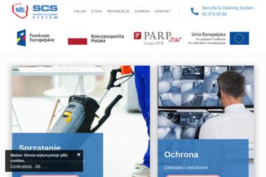 SCS Security&Cleaning System - Szpitale Wrocław-Warszawa