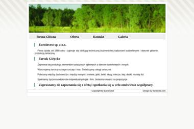 Euroinvest sp. z o.o. - Pokrycia dachowe Giżycko