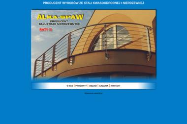 ALKA-SPAW - Balustrady na Schody Kobyłka