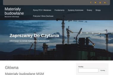 MSM Materiały Budowlane Miciak Studziański s.j. - Skład drewna Wrocław