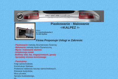 Piaskowanie - Malowanie KALPEZ - Piaskowanie Konstrukcji Stalowej Gryfino