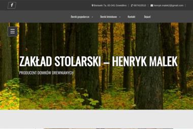 Zakład stolarski Henryk Malek - Budowa domów Bielawki