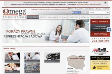 KANCELARIA PRAWNA OMEGA oddział Rzeszów - Prawnik Rzeszów