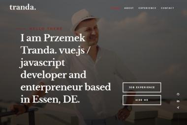 TrandaDesign - Pozycjonowanie stron Białystok