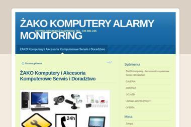 """""""ŻAKO"""" Komputery i Akcesoria Komputerowe Serwis i doradztwo Daniel Żak - Firma Elektryczna Kisielice"""