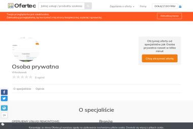 Osoba prywatna - Remonty mieszkań Włocławek