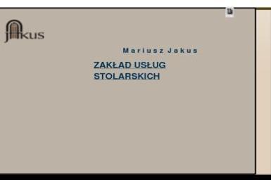 Zakład Usług Stolarskich Mariusz Jakus - Wyłazy Dachowe Odporyszów