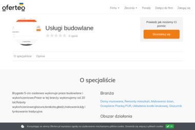 Usługi budowlane - Malarz Łęczyca