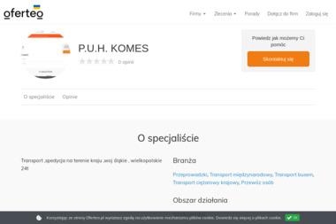 P.U.H. KOMES - Przeprowadzki Kalisz