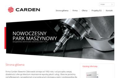 Carden Sławomir Żebrowski - Obróbka metali Ostrołęka