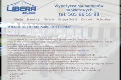 NAMIOTY BANKIETOWE WYPOZYCZALNIA NAMIOTOW - Zespół muzyczny Koscierzyna