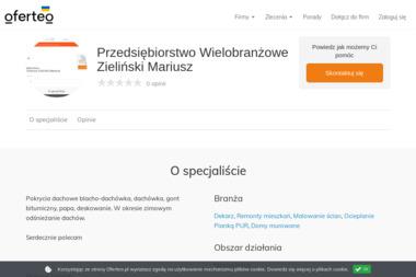 Przedsiębiorstwo Wielobranżowe Zieliński Mariusz - Domy szkieletowe Pułtusk