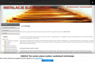 Zakład elektryczny Raf-el - Oświetlenie Schodów Toruń
