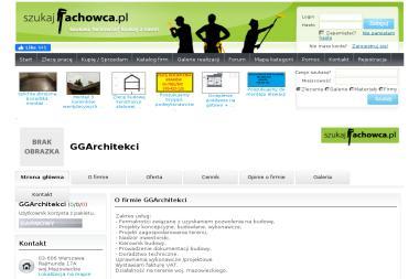 GGArchitekci - Projekt Hali Magazynowej Warszawa