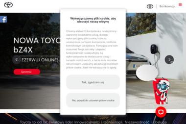 Toyota Bońkowscy Poznań - Samochody osobowe Poznań