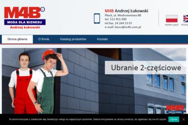 M4B Andrzej Łukowski - Hurtownia odzieży Płock