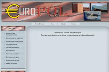 EUROPOL - Pokrycia dachowe KATOWICE
