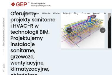 Biuro Projektów GEP - Projektowanie konstrukcji stalowych Koluszki