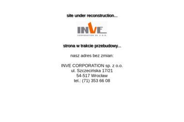 """""""INVE CORPORATION"""" SPÓŁKA Z OGRANICZONĄ ODPOWIEDZIALNOŚCIĄ - Okna aluminiowe Wrocław"""