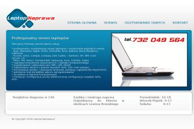 Tani Serwis Naprawa Laptopów Laptop Service Szczecin - Internet Szczecin