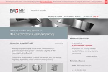 """""""MAT"""" Sławomir Chyra - Okna PCV Iwanowice Małe"""