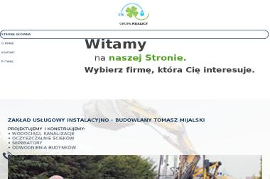 Zakład Usługowy Instalacyjno-Budowlany Tomasz Mijalski - Dotacje unijne Kiełczów