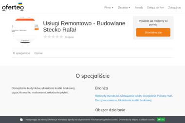 Usługi Remontowo - Budowlane Stecko Rafał - Domy szkieletowe Jarosław