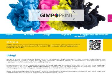 Agencja Wydawniczo-Poligraficzna GIMPO - Druk wielkoformatowy Warszawa