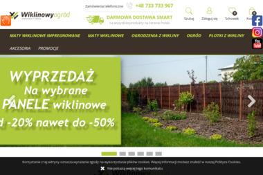 PPHU Wiklinowy Ogród - Budowa Ogrodu Zimowego Niechobrz