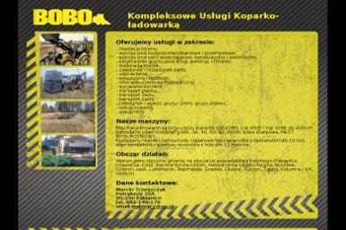 Bobo - Fundamenty Pod Dom Pabianice
