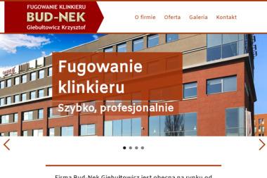 FUGOWANIE KLINKIERU BUD-NEK Krzysztof Giebułtowicz - Tynki maszynowe Kluczbork