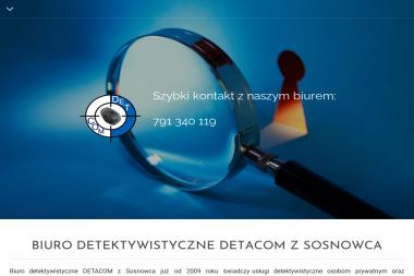 """Biuro Detektywistyczne 'Detcom"""" - Detektyw Katowice"""