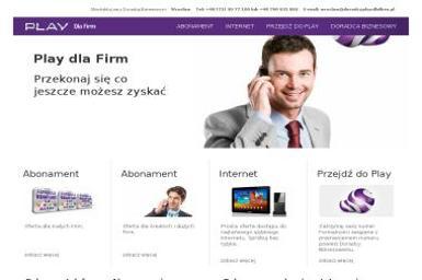 Play dla Firm - Doradca Biznesowy - Wrocław - Dostawcy internetu, usługi telekomunikacyjne Wrocław