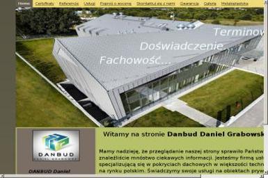 DANBUD Daniel Grabowski - Budowa domów Czosnów