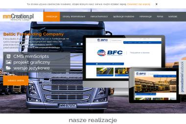 MmCreation.pl - Tworzenie Stron WWW Szczecin