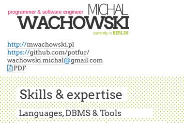MWachowski - Grafik komputerowy Gorzów Wlkp.