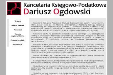 Kancelaria Księgowo-Podatkowa Dariusz Ogdowski - Doradca podatkowy Pruszcz Gdański