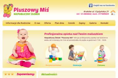 Klub Maluszka Pluszowy MiÅ› - Żłobek Kraków