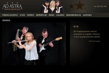 AD-ASTRA - Zespół muzyczny Poznań