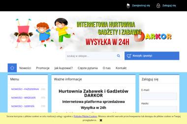 FHU DARKOR Dariusz Koralewski - Hurtownia zabawek i gier Poznań