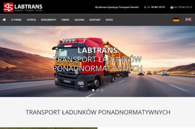 LABTRANS Transport Spedycja Handel - Transport międzynarodowy Lębork