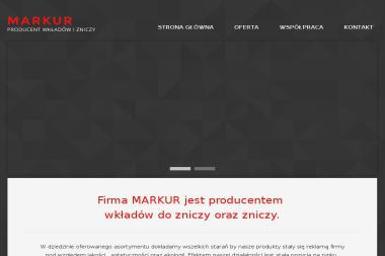 Producent wkładów, zniczy MARKUR - Znicze Myszków