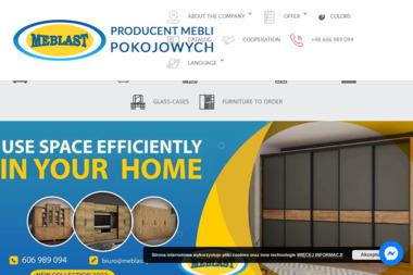 MEBLAST-Zakład Stolarski - Szafy Na Wymiar Studzianki
