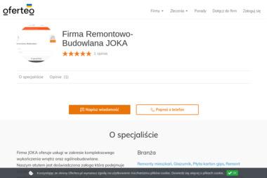 Firma Remontowo-Budowlana JOKA - Płyta karton gips Stąporków